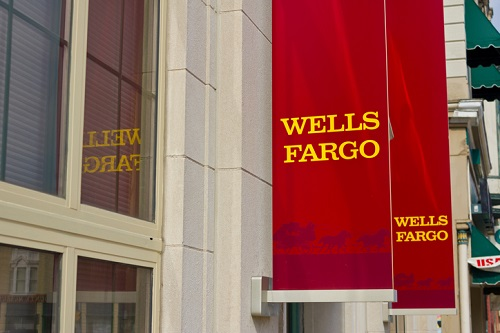 Wells Fargo Trails Bank Rally Before Tim Sloan's Big Day in Congress