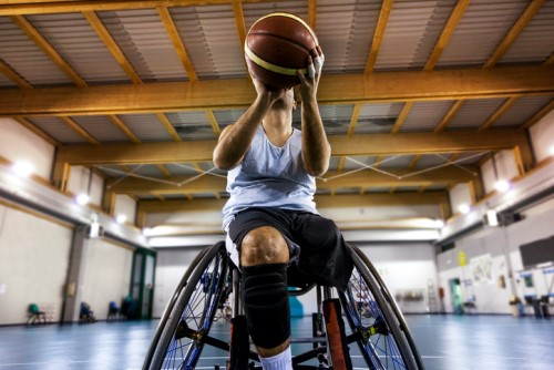 icare and APC host wheelchair basketball challenge