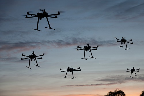 The drone invasion