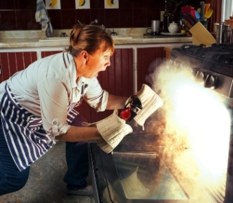 Rise in kitchen damage claims during Great British Bake Off