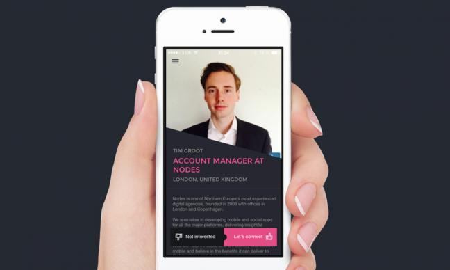 Could this be the Tinder of the business world?