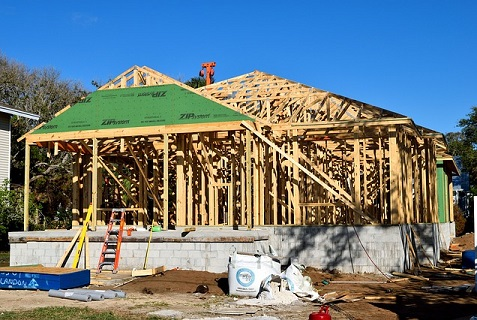 Housing construction is trending up