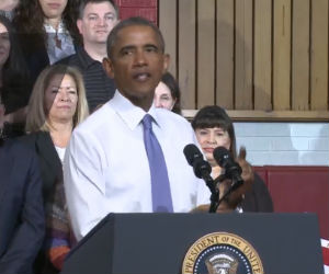 Obama talks housing, lower FHA rates