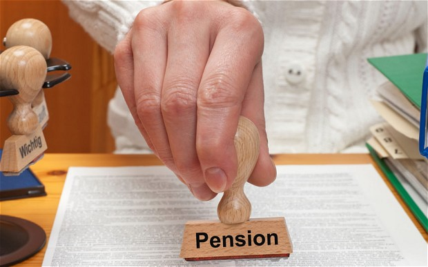 Key pension dispute ends