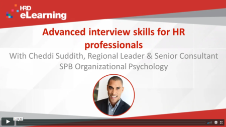 Advanced interview skills for HR professionals